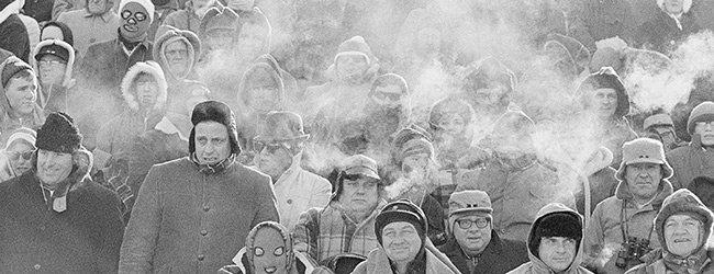 coldest football games